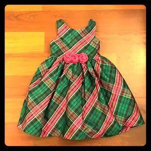 Janie & Jack Plaid Christmas Dress